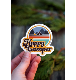 Stickers Happy Camper Sticker