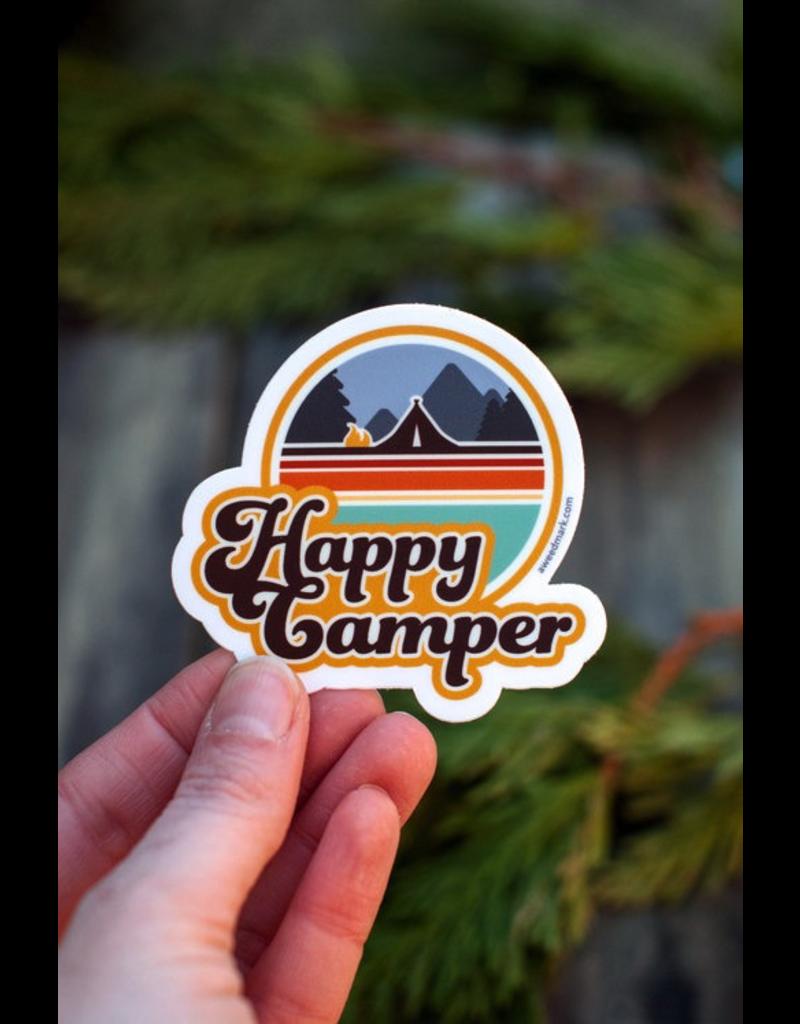 Stickers Happy Camper Sticker