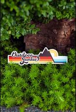 Stickers Outdoor Junkie Bumper Sticker