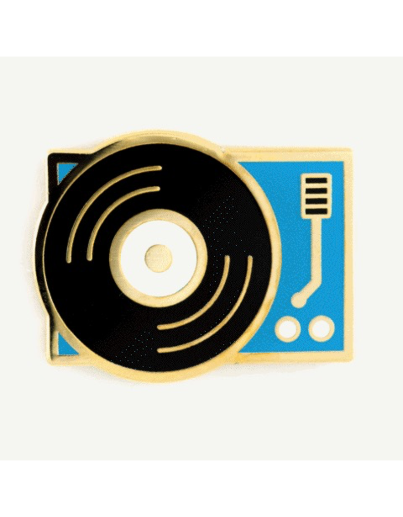 Enamel Pins Record Player Enamel Pin