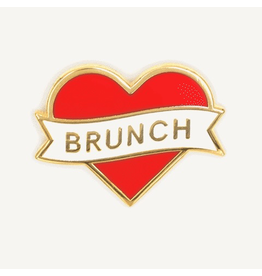 Enamel Pins Heart Brunch Enamel Pin