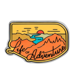 Enamel Pins Life Of Adventure Enamel Pin