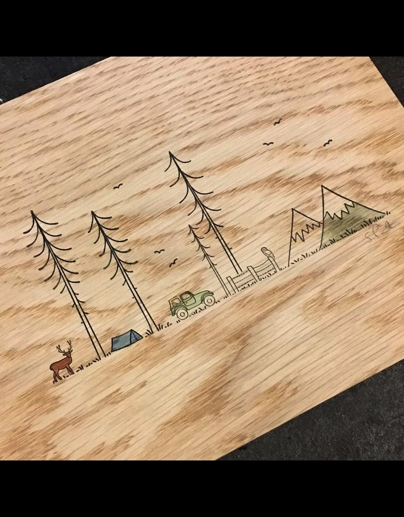 Prints Jeep + Deer + Owl + Tent Print