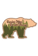 Stickers - Wood Wander Often Bear Wood Sticker