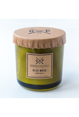 Candles Blue Moss 8.5oz Candle