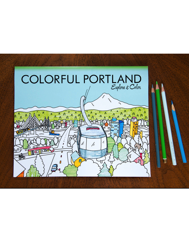 Coloring Books Portland Coloring Book