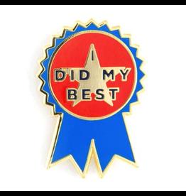 Enamel Pins I Did My Best Enamel Pin