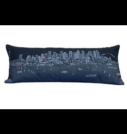 Pillows Seattle Skyline Night Pillow