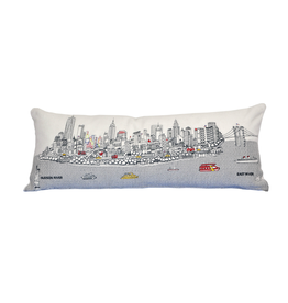 Pillows NYC Skyline Day Pillow