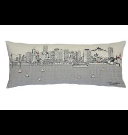 Pillows Portland Skyline Day Pillow