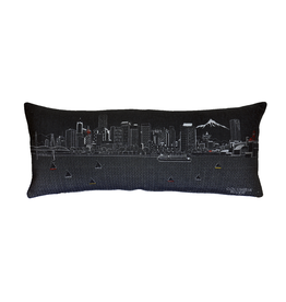 Pillows Portland Skyline Night Pillow