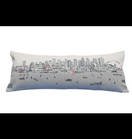 Pillows Seattle Skyline Day Pillow