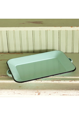 Dinnerware Enamelware Rectangular Tray