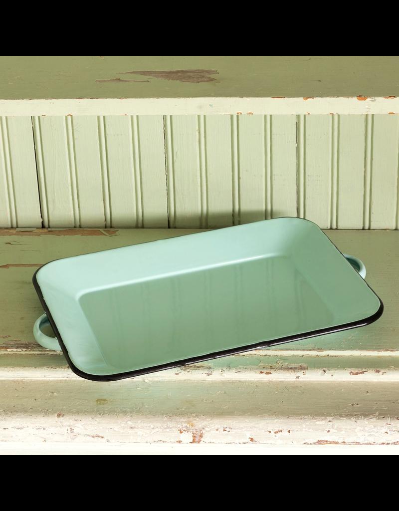 Dinnerware Enamelware Rectangular Tray