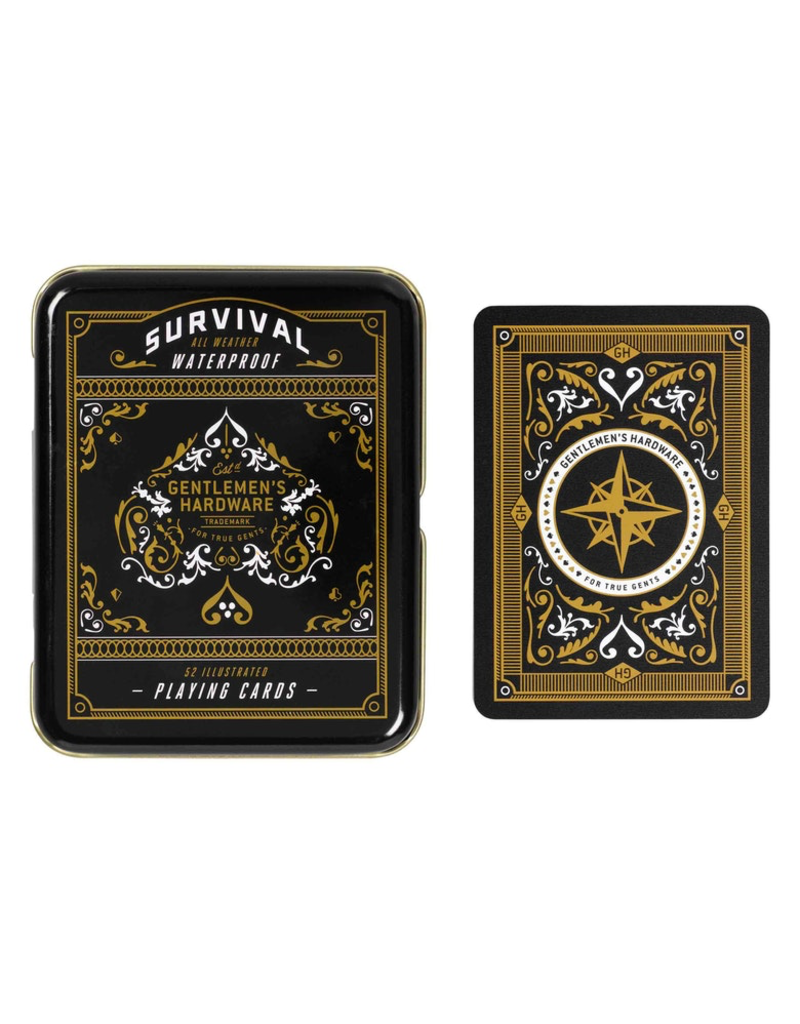 Games Survival Playing Cards