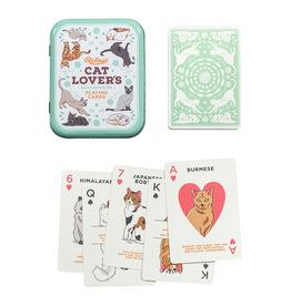 Games Cat Lovers Playing Cards