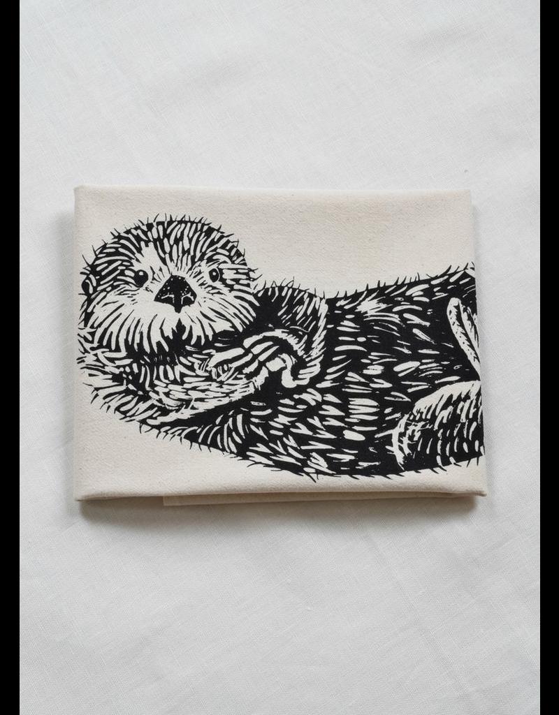 Tea Towels Otter Tea Towel