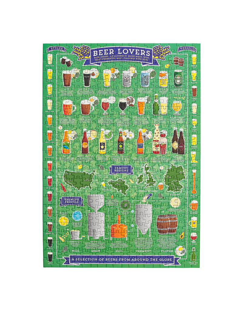 Puzzles Beer Lovers Puzzle