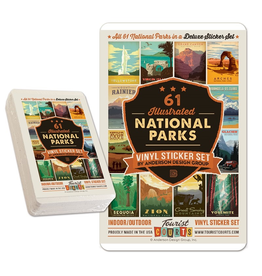 Stickers National Parks Sticker Set