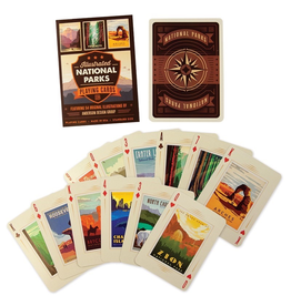 Games National Parks Playing Cards