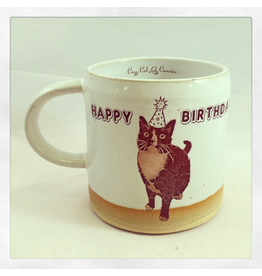 Mugs Happy Birthday Cat Mug