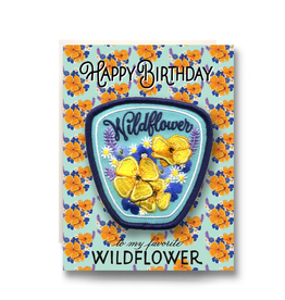 Greeting Cards - Birthday Wildflower Patch Birthday Card