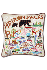 Pillows - Embroidered Adirondacks Pillow