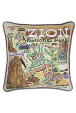 Pillows - Embroidered Zion Pillow