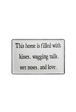 Plaques Home Is Filled Enamel Plaque