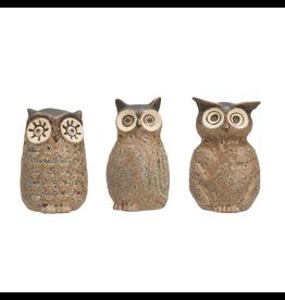Vases Stoneware Owl Vases