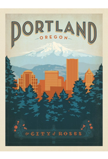 Prints Portland Oregon 11x14 Print