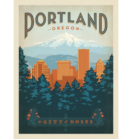 Prints Portland Oregon 11x14 Print