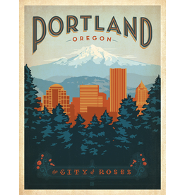 Prints Portland Oregon 18x24 Poster