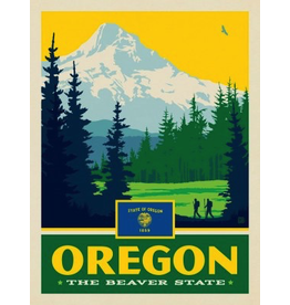 Posters Oregon State Pride 11x14 Print