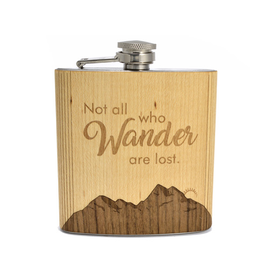 Flasks Not All Who Wander Flask