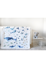Blankets Sealife Numbers Blanket