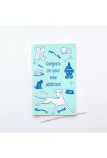Greeting Cards - Congrats New Dog Greeting Card