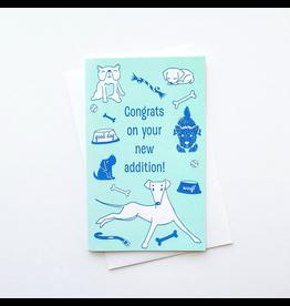 Greeting Cards - Congrats New Dog Greeting Card