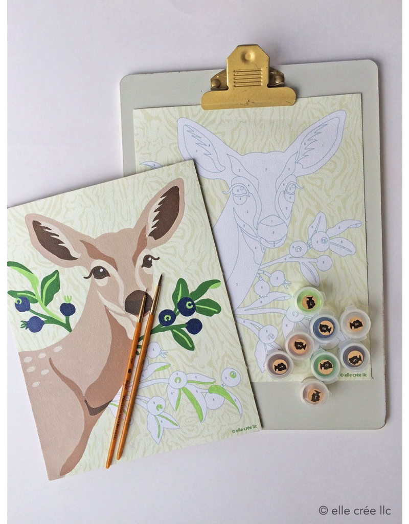 DIY Kits Deer Paint-By-Number Kit