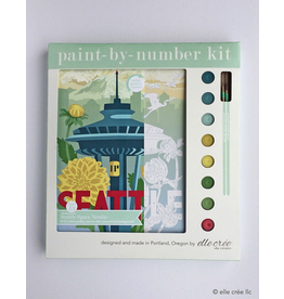 DIY Kits Seattle Space Needle Paint-By-Number Kit
