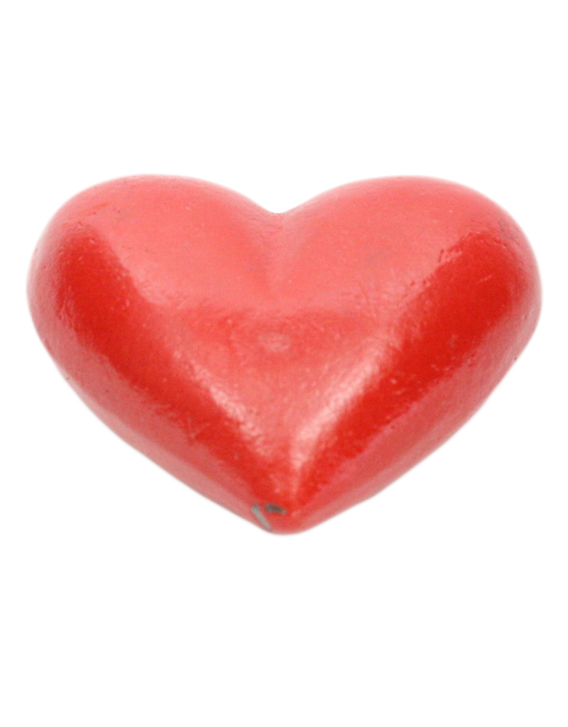 Accent Red Cast Iron Heart