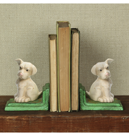 Bookends Puppy Cast Iron Bookends