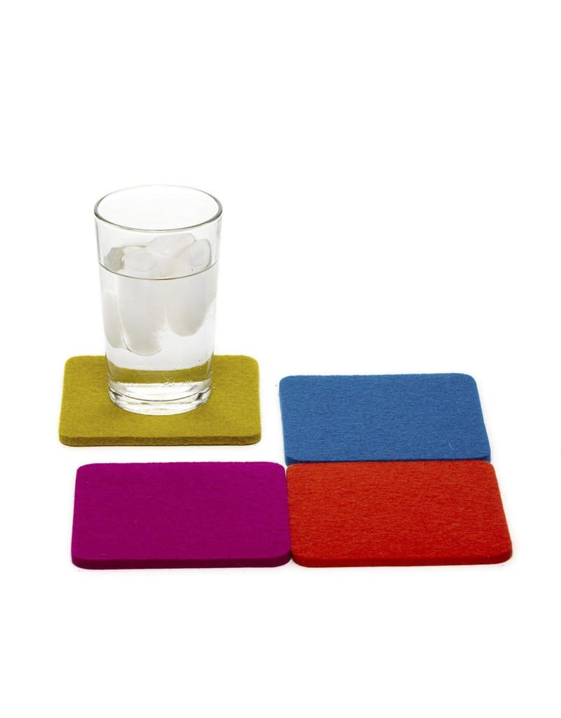 Coasters Electric Felt Coasters