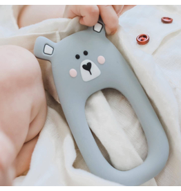 Teethers Grey Bear Teether