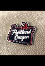 Enamel Pins Portland Stag Sign Enamel Pin