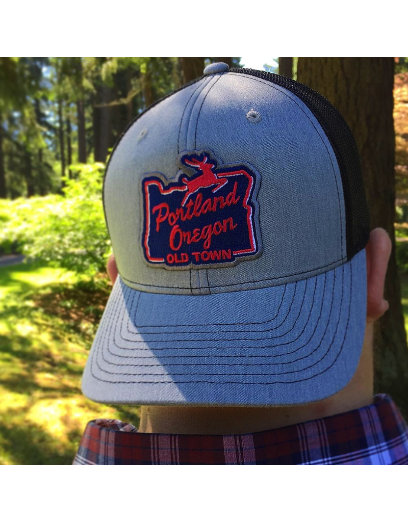 Hats Portland Stag Sign Truckers Hat