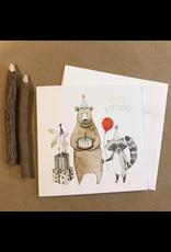 Greeting Cards - Birthday Birthday Bear Greeting Card