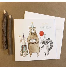 Greeting Cards - Birthday Birthday Bear Greeting Card