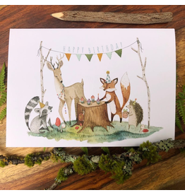 Greeting Cards - Birthday Woodland Birthday Greeting Card