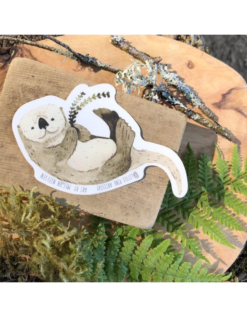 Stickers Playful Otter Sticker